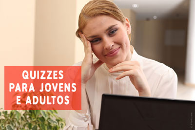 Quizzes para Adultos diversas Categorias